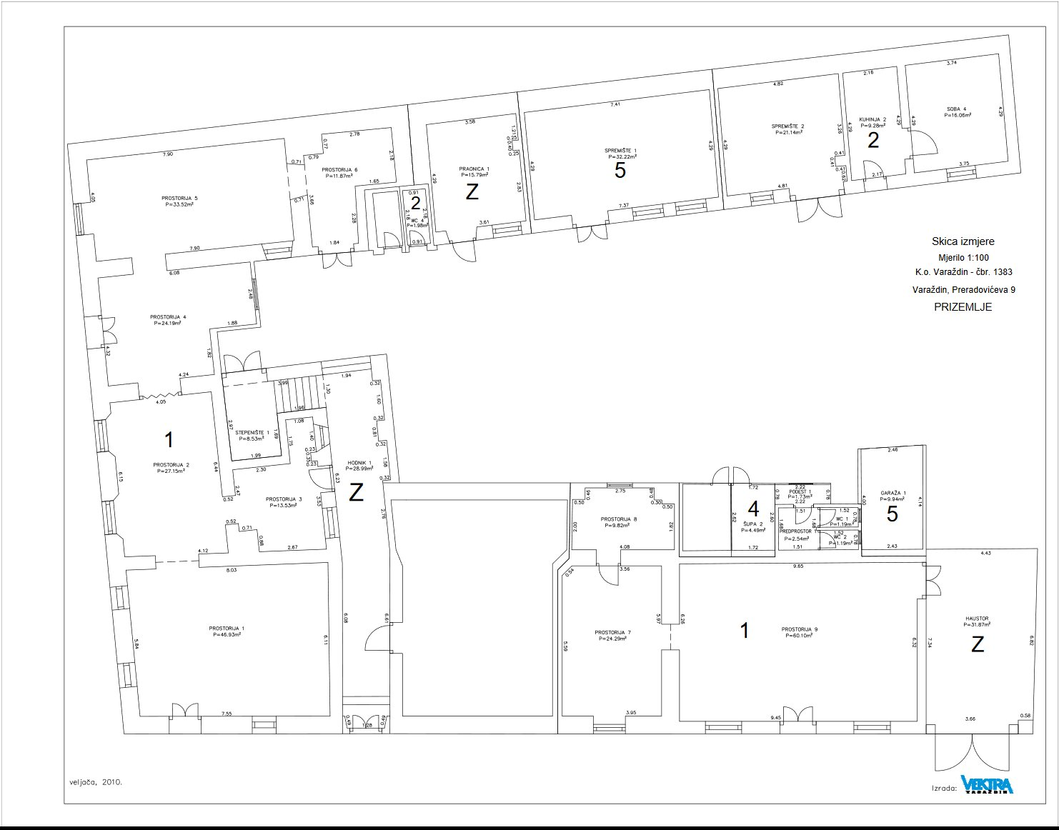 Condominium property survey – VEKTRA