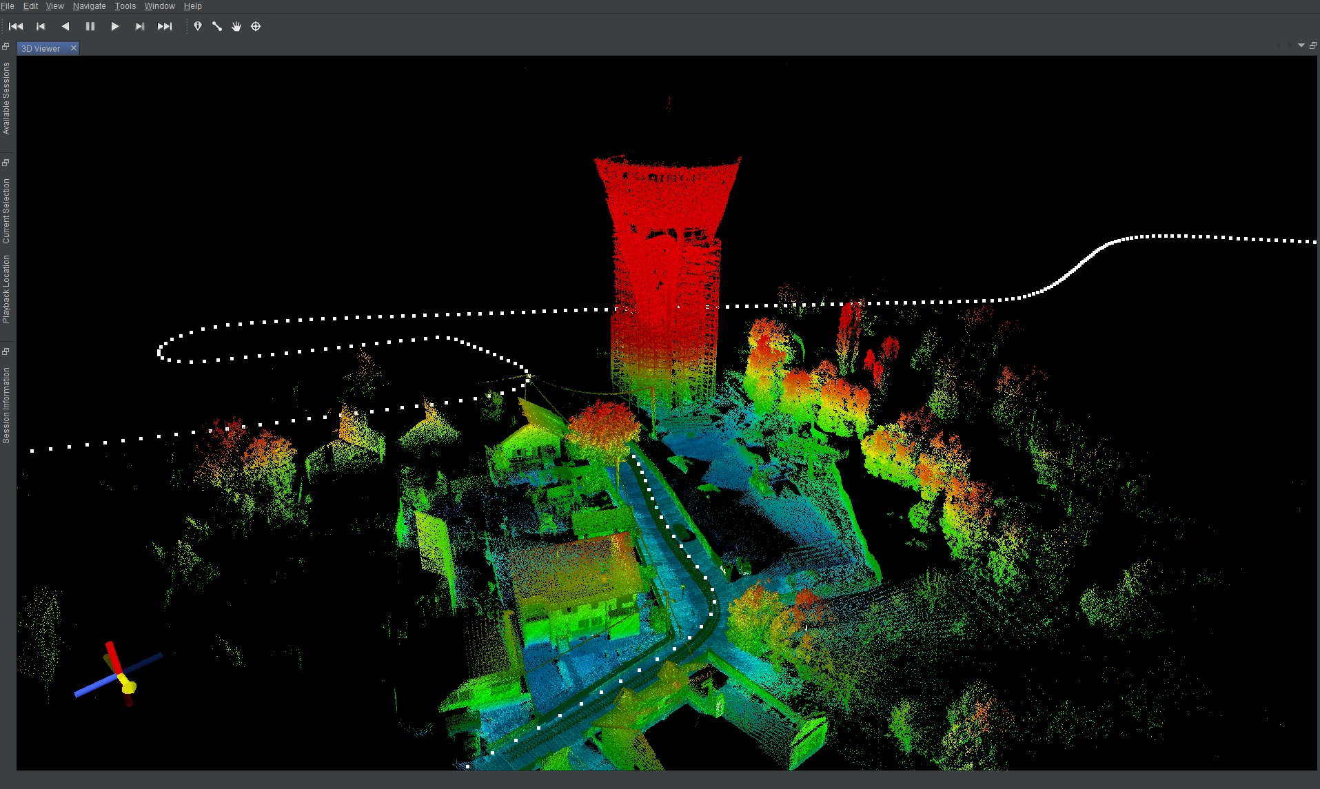 3D mobile mapping – VEKTRA