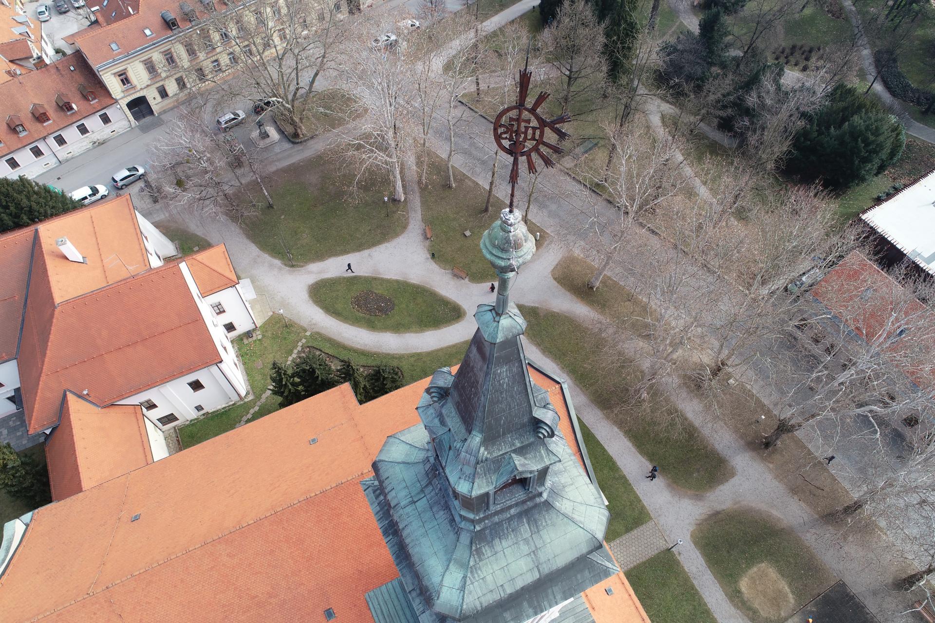 Varazdin Zvonik Varazdinske Katedrale Uznesenja Blazene Djevice